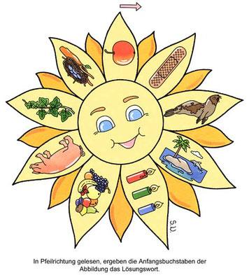 Sonnen-Rätsel, Bilderrätsel
