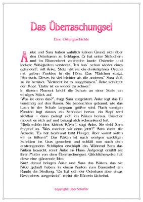 Das Überraschungsei, Eine Ostergeschichte für Kinder, Seite 1