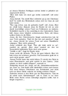 Im Garten liegen nicht nur Ostereier, Eine Ostergeschichte für Kinder, Seite 2