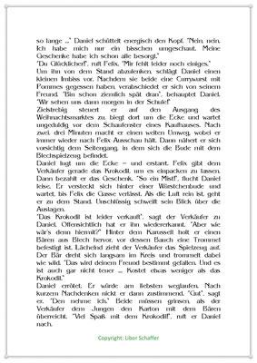 Daniel sucht noch ein passendes Geschenk, Eine Weihnachtsgeschichte für Kinder, Seite 2