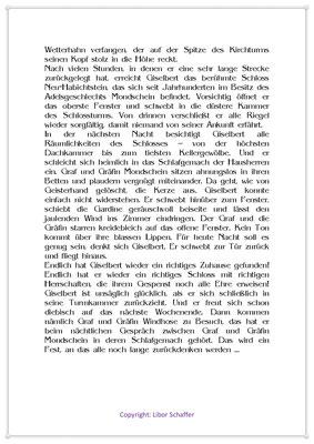 Das Gespenst von Neu-Entenstein, Eine Gespenstergeschichte für Kinder, Seite 2
