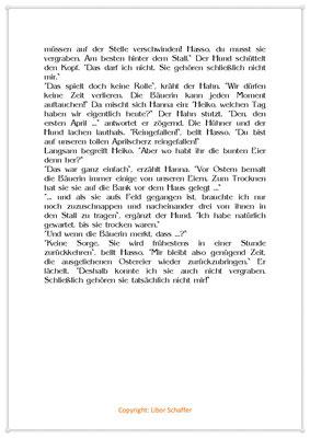 Da lachen ja die Hühner, Eine Geschichte zum 1. April, Seite 2