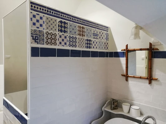 la salle d'eau, coin lavabo