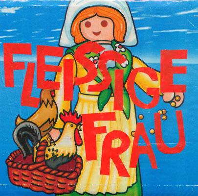 """KunstBEGEGNUNG: """"Fleißige Frau"""" TaschenBild/Serie 2010"""