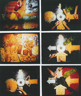 "KunstBEGEGNUNG: ""meal"" Media Eat Art Language 1998"