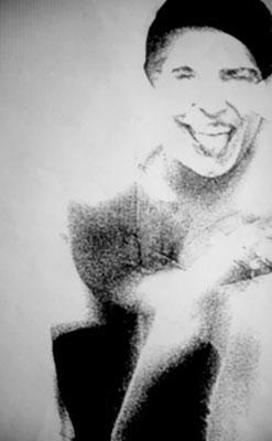 """KunstBEGEGNUNG: """"like a model"""" Fotografie/Kopienbild/Serie 2000"""
