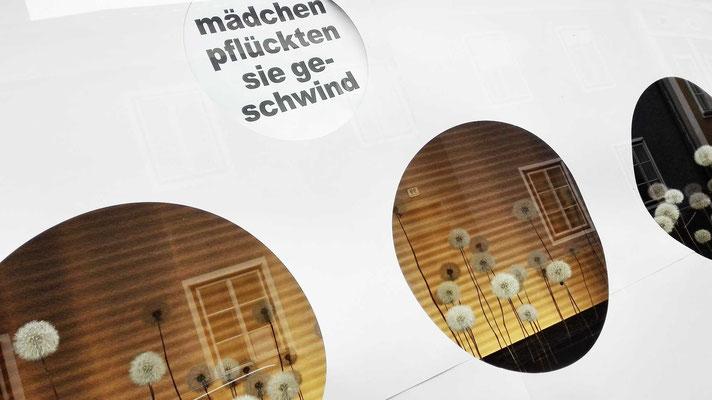 """KunstBEGEGNUNG: """"Sag mir wo die Blumen blühen"""" Pop-Up Installation 2019"""