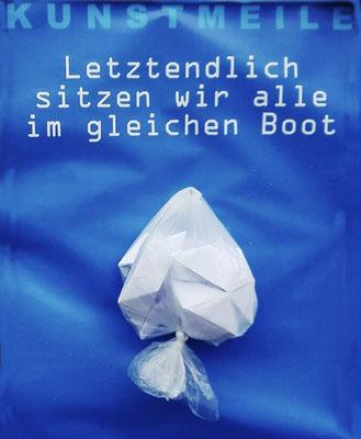 """KunstBEGEGNUNG: """"Letztendlich sitzen wir alle im gleichen Boot"""" Schulprojekt 2018"""