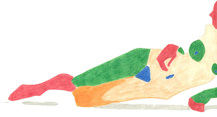 """KunstBEGEGNUNG: """"Akt"""" Zeichnung/Hochschule 1990"""