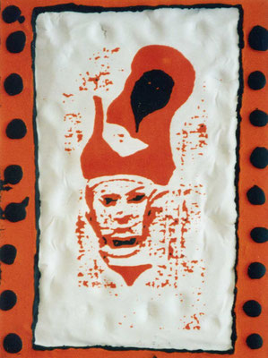 "KunstBEGEGNUNG: ""funky painting"" Bild/Serie 1998"