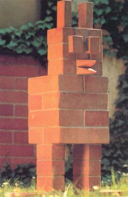 """KunstBEGEGNUNG: """"Gartenzwerg"""" Statement/Hochschulprojekt 1992"""