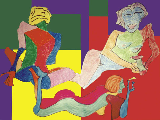 "KunstBEGEGNUNG: ""Michaela"" Bild 2000"