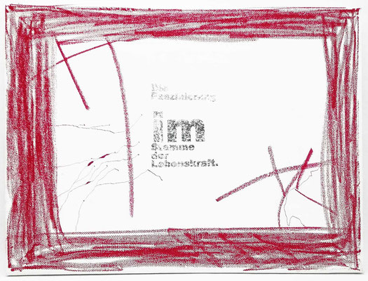 "KunstBEGEGNUNG: ""Lebenskraft"" BiToWoCo CollagenLeinWandBild 2019"