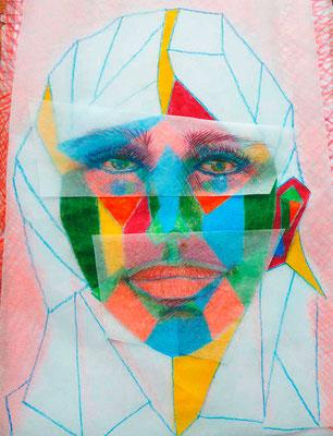 """KunstBEGEGNUNG: """"Gabriele"""" Bild 1998"""