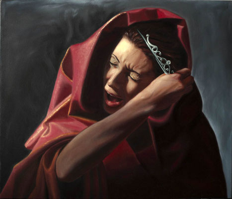 """Glauce"" - 2011 - oil on canvas – 70 x 60 cm."