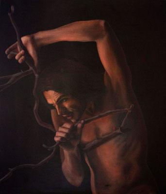 """""""Inquisitio"""" - 2009 - Olio su tela - 70x60 cm. - collezione privata"""