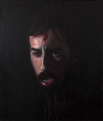 """Golia"" - 2010 - oil on canvas – 70 x 60 cm."