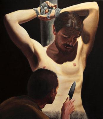 """""""Marsia"""" - 2011 - olio su tela – 70 x 60 cm."""