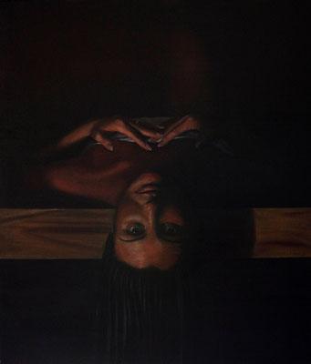 """""""Fascinus"""" - 2009 - Olio su tela - 70x60 cm. - collezione privata"""