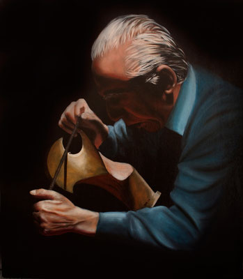 """Forcola"" - 2009 - oil on canvas  – 70x60 cm."