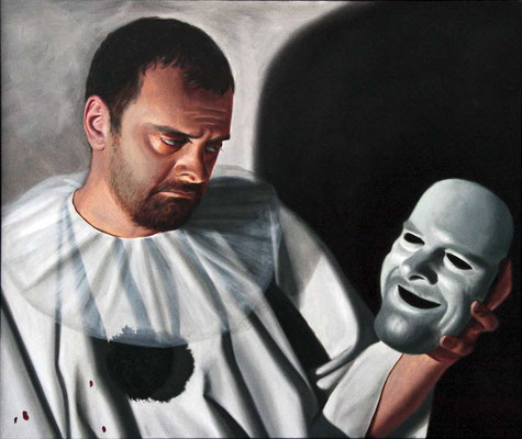 """Pagliacci"" - 2011 - oil on canvas – 70 x 60 cm. - private collection"