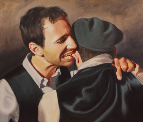 """Cavalleria rusticana"" - 2011 - oil on canvas – 70 x 60 cm. - private collection"