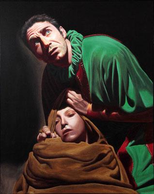 """""""Rigoletto"""" - 2011 - olio su tela – 100 x 80 cm."""