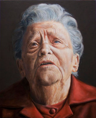 """Vera"" - 2010 - oil on poplar board – 32 x 39 cm."