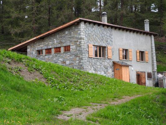 Moosalp (neue Alphütte der Burgergemeinde)