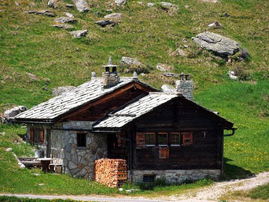 Moosalp (alte Hütte der Burgergemeinde