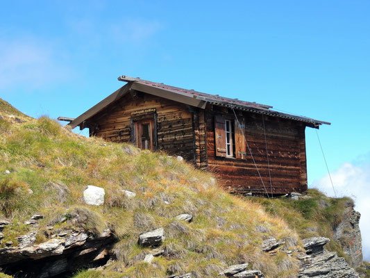 Hütte bei den Gritteltschuggen