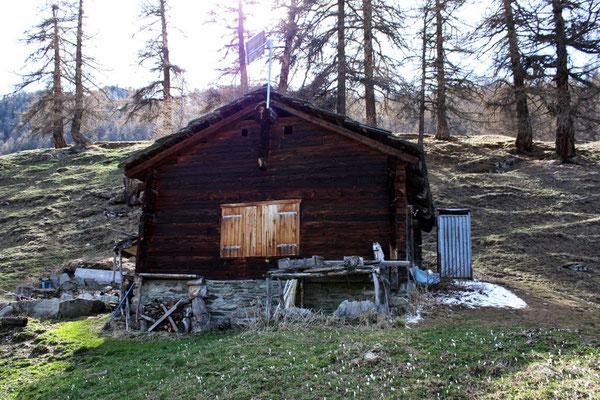 Alphütte auf der Bifigalp (Burgergemeinde)
