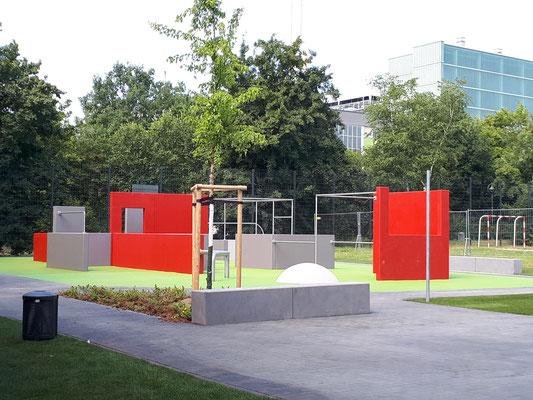 Parkouranlage Düsseldorf