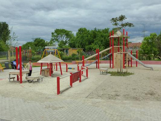 barrierefreie Spielanlage