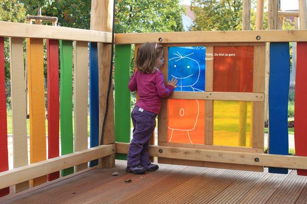 Bunte Scheiben für ein faszinierendes Farbenspiel