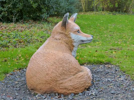 Fuchs aus Spritzbeton