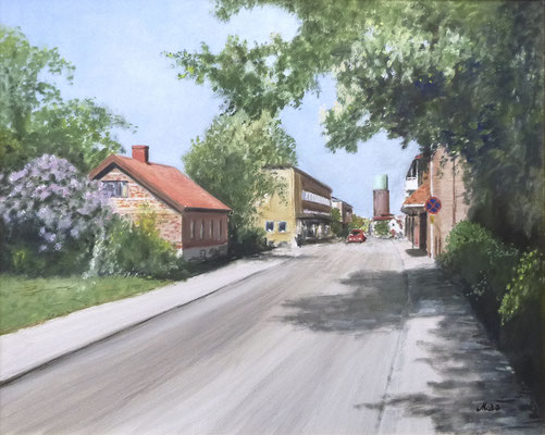 MatsMüller, Höganäs nedre, 60x50cm