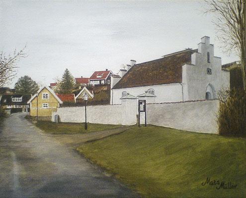 MatsMüller, Arilds kapell, 41x33cm