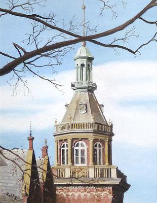 MatsMüller, Kulla Gunnarstorps slott, 48x38cm
