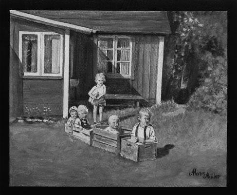 MatsMüller, Barn 2, 30x25cm