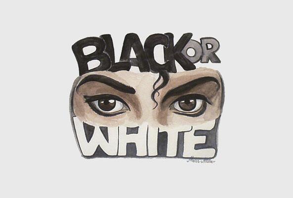 Mats Müller, Black&White, 40x30cm