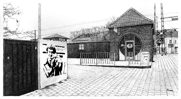 Mats Müller, Tomelilla-5, 60x40cm i ram