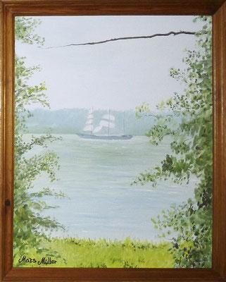 MatsMüller, Steglits, Nutiden, 48x38cm