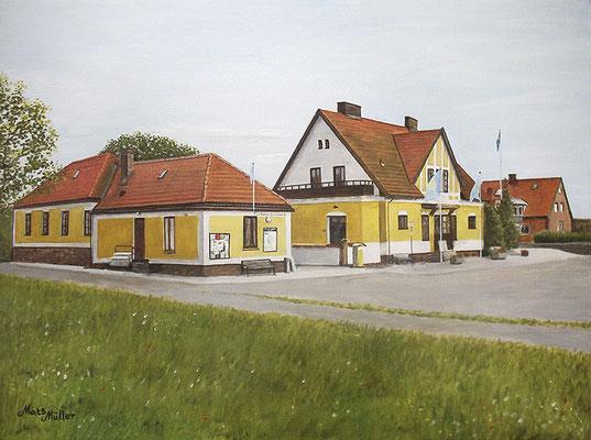 MatsMüller, Hölle stationen, 65x50cm