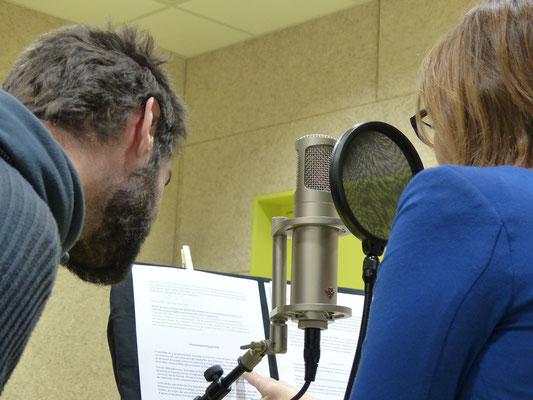 ©Marina Guittois - Enregistrement de voix