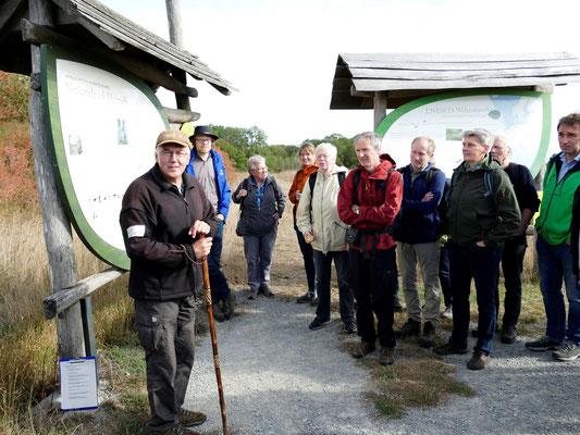 Zu Beginn stellte Manfred Großmann den Nationalpark vor