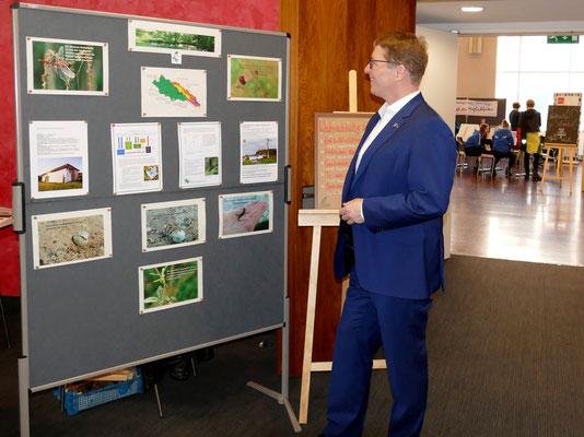 NABU Präsident Jörg-Andreas Krüger zu Besuch am Stand.