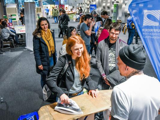 Mehr als 600 Besucher waren beim Mitmach-Tag dabei. Foto: ©NABU/MarcusSchwetasch