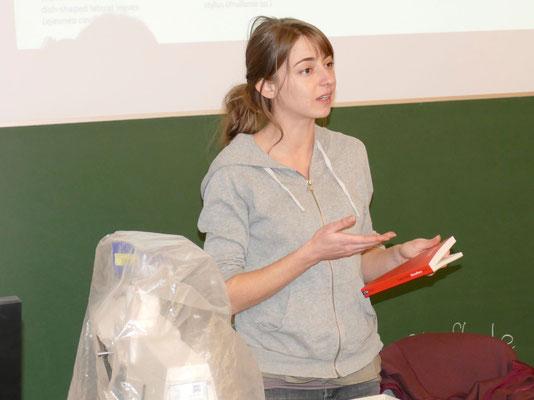 Martina Pöltl leitete geschickt und kompetent die Veranstaltung