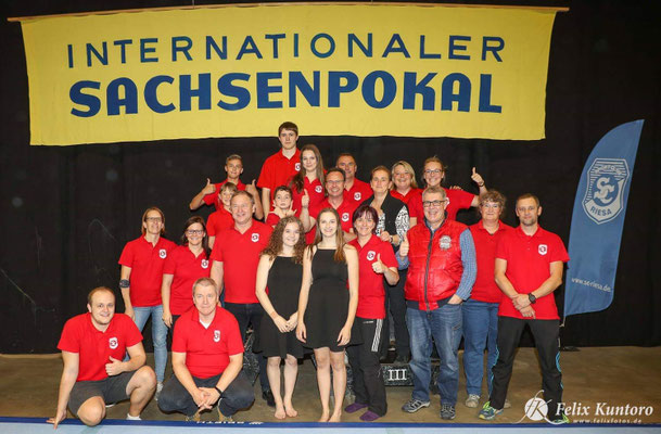 Sportler Internationaler Sachsenpokal Sportakrobatik Riesa 2018